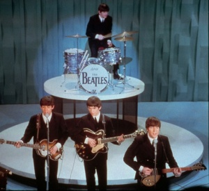 beatles first sullivan color