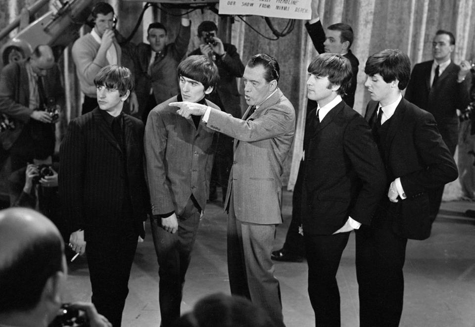 beatlemania in the 1960s essay Beatlemania is the term given to the intense fan frenzy directed towards the english rock band the beatles in the 1960s the phenomenon began in 1963 and continued past the group's break-up in 1970, despite the band ceasing public performances in 1966.
