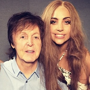 Macca and Lady Gaga.