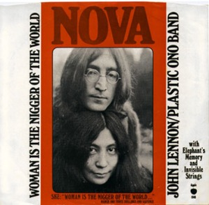 Picture sleeve for the album's single.