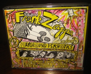 The 1992 Frank Zappa album that included John and Yoko's performance.