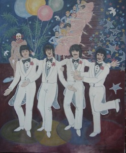 A painting by Cynthia Lennon donated to Scottish Rite Children's Hospital in Atlanta in 1981.