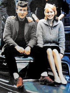 John and Cynthia in the early days.