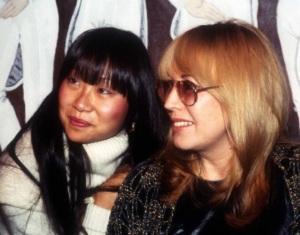 May Pang and Cynthia Lennon at the Limelight in Atlanta, December 1981.