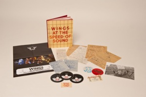 """""""Wings at the Speed of Sound"""" reissue."""