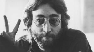 john peace sign