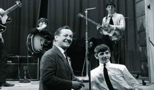 Tony Barrow wrote liner notes for early Beatles albums.