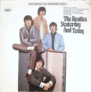 """The """"trunk"""" cover of The Beatles' """"Yesterday and Today"""" album."""
