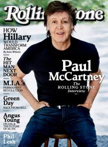 The Rolling Stone cover story.